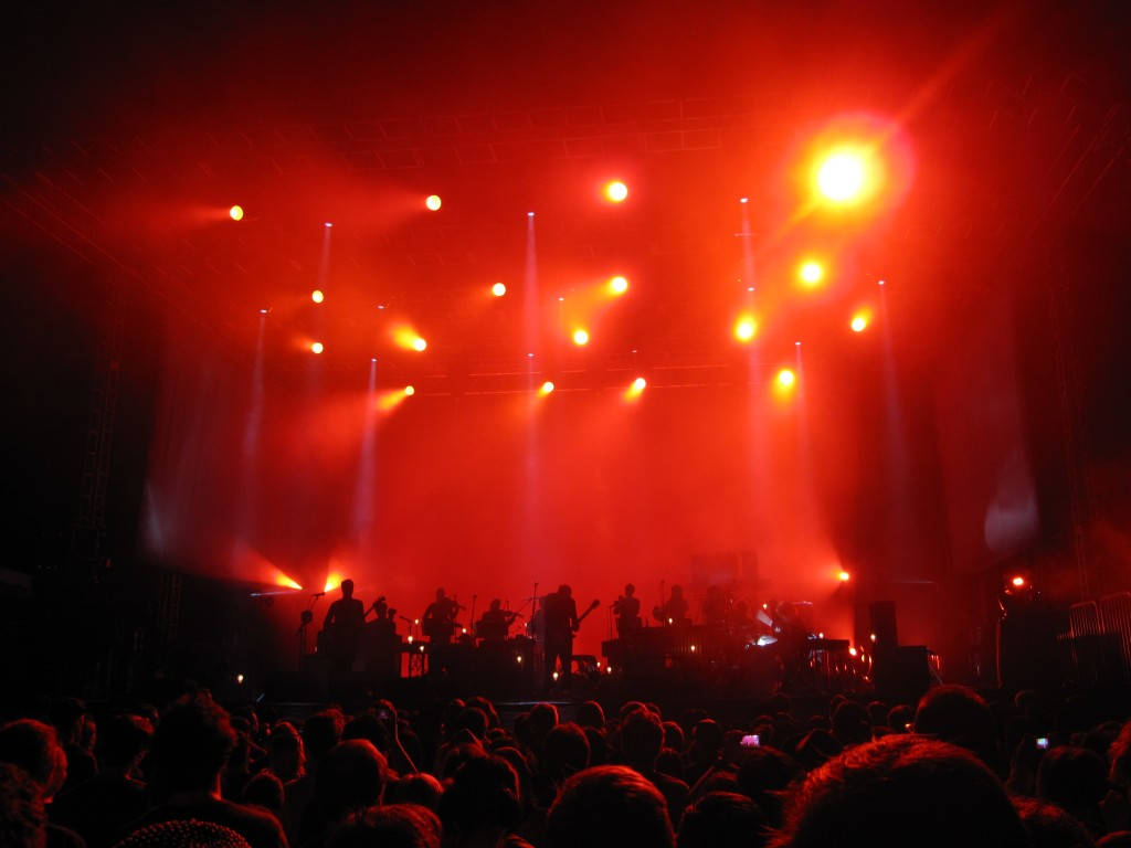 Sigur Ros at Hollywood Forever Cemetery