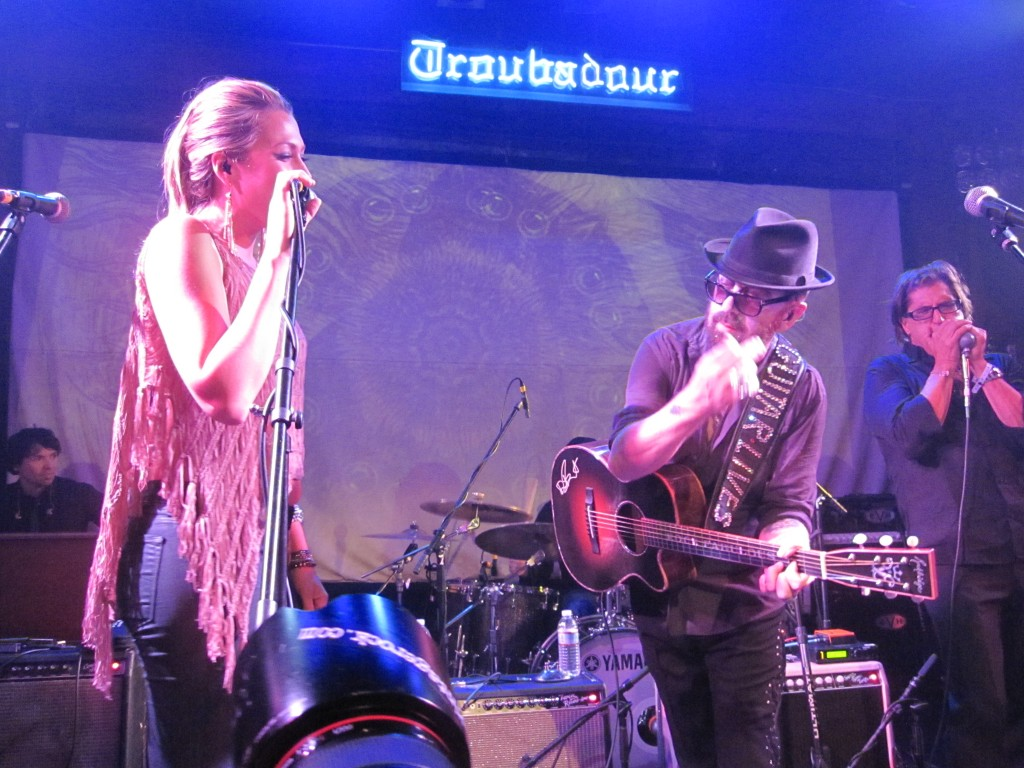 Colbie Caillat and Dave Stewart